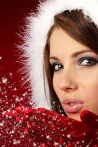 ws_Beautiful_Santa_girl_640x960